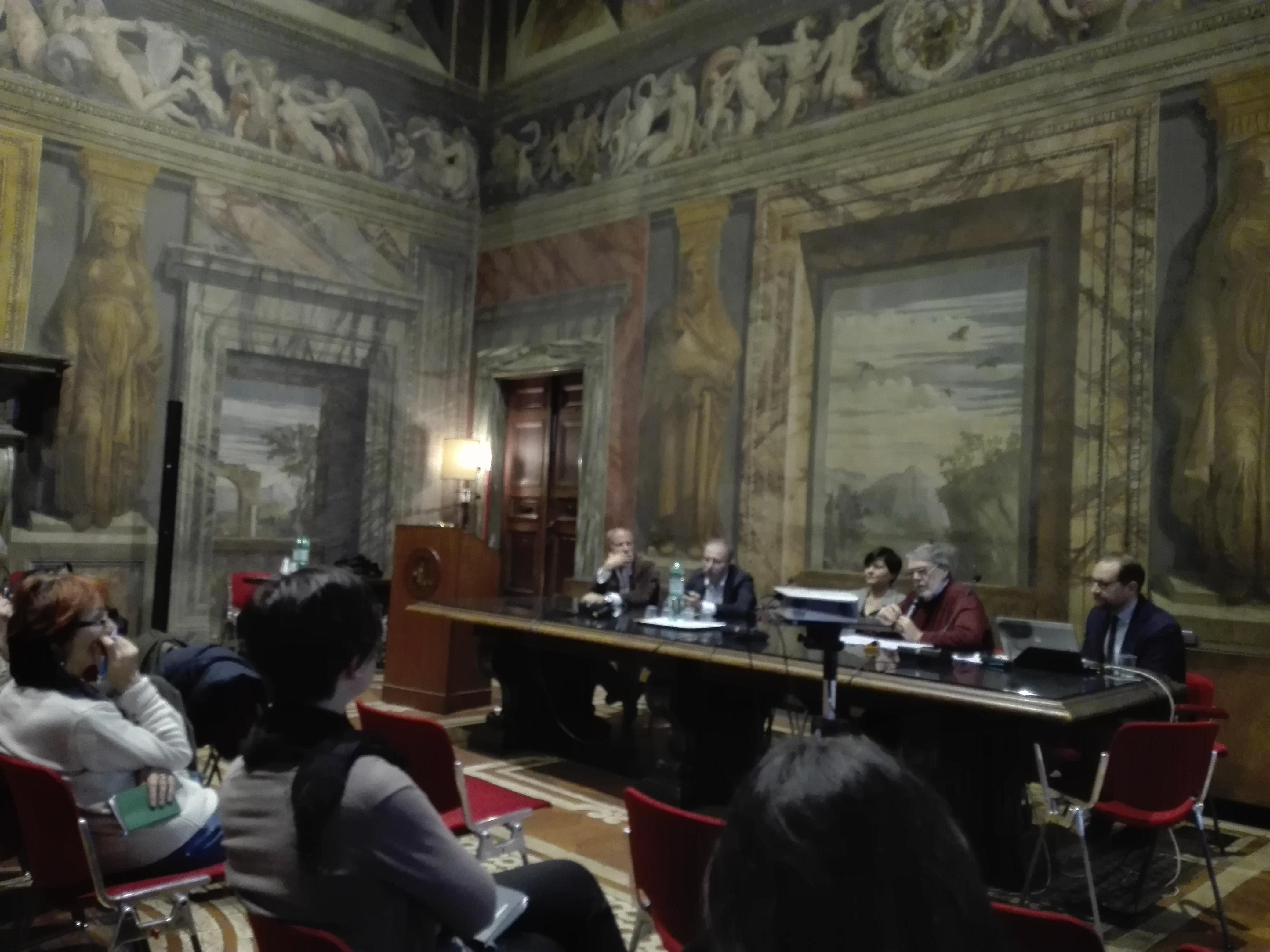 La Sala Serpieri del Palazzo Della Valle, sede di Confagricoltura, ha ospitato la Conferenza Stampa del nostro Master in Agricoltura Sociale
