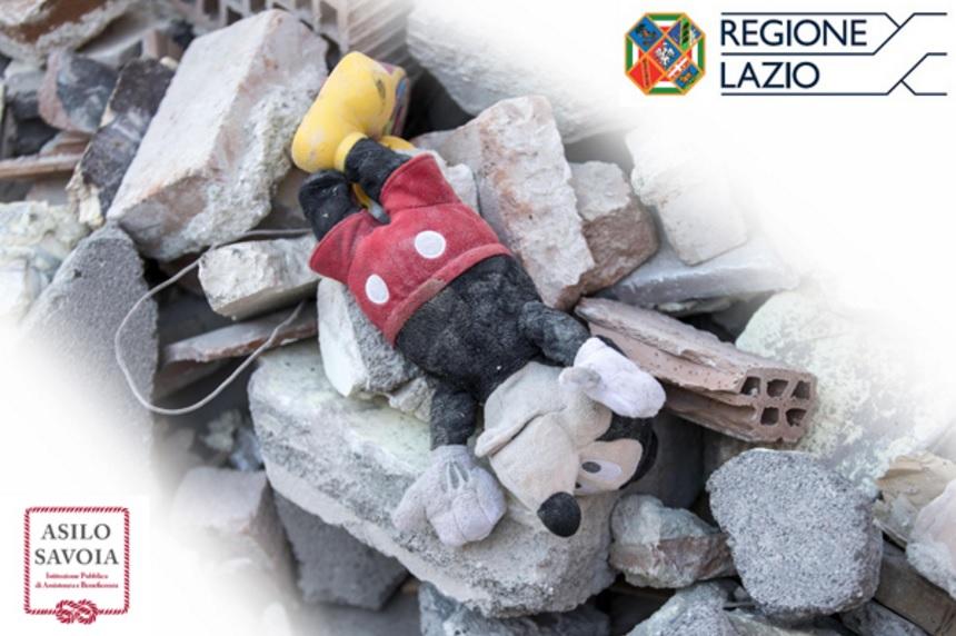 Il contributo annuale della Regione Lazio per i minori rimasti orfani dopo il terremoto