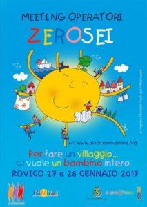 Meeting degli operatori ZeroSei - 27 e 28 gennaio 2017