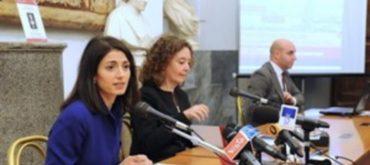 Virginia Raggi e l'assessore Laura Baldassarre presentano i lavori partecipati per il Piano Sociale cittadino di Roma
