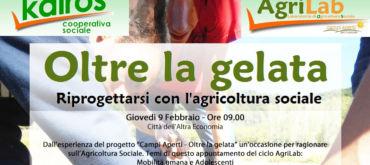 """AgriLab: il seminario """"Oltre la gelata. Riprogettarsi con l'agricoltura sociale"""""""
