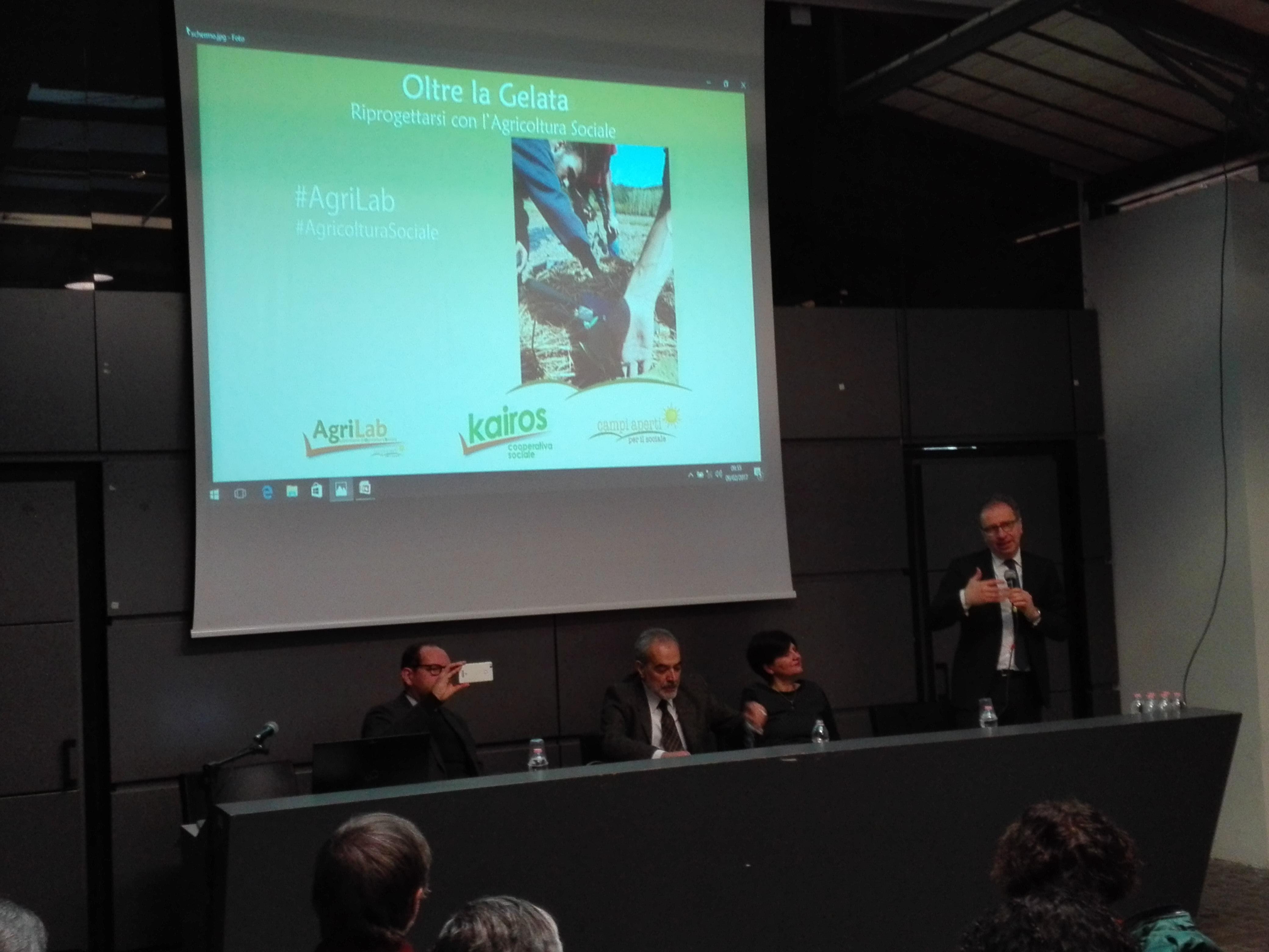 """L'on. Massimo Fiorio ha partecipato al seminario """"Oltre la Gelata. Riprogettarsi con l'Agricoltura Sociale"""" di Kairos"""