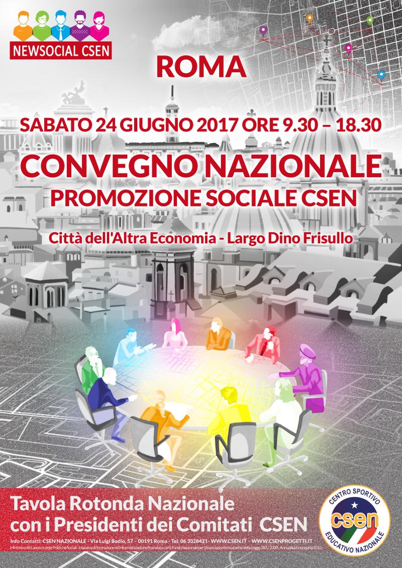 Convegno Nazionale Promozione Sociale CSEN