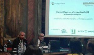Il direttore Massimo Giannini presenta il Master in Agricoltura Sociale