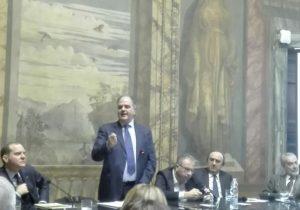 Il sottosegretario al Ministero delle Politiche Agricole, Giuseppe Castiglione