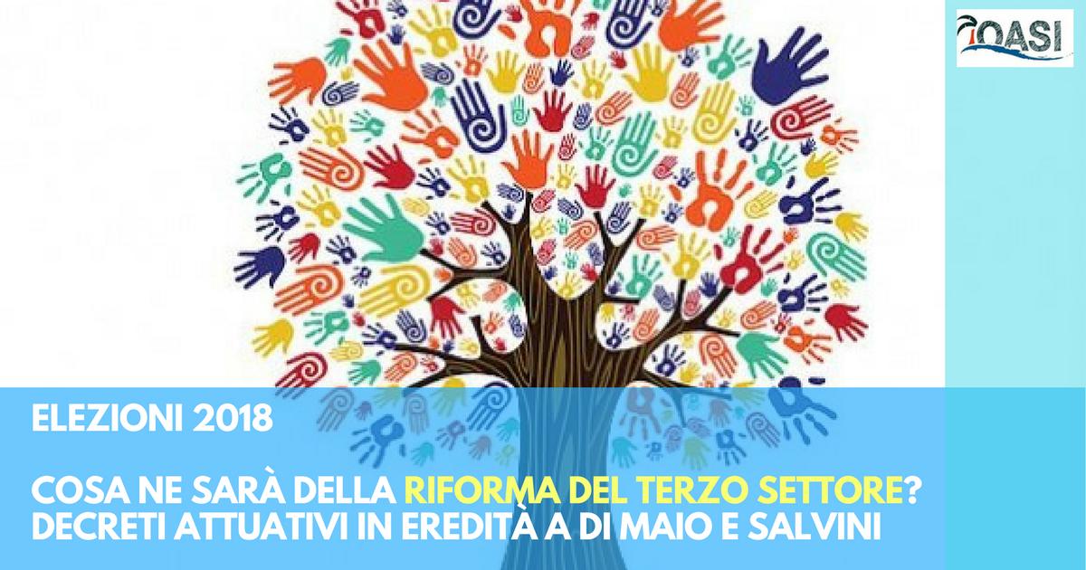 Riforma del Terzo Settore: i partiti di Di Maio e Salvini avevano votato contro. Ora da loro dipendono i decreti attuativi