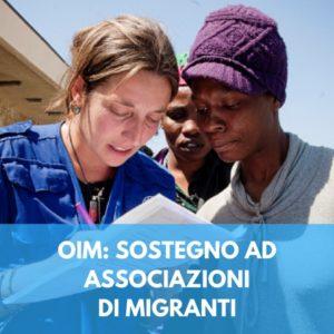 A.MI.CO. 2018: Formazione dell'OIM ad Associazioni di migranti