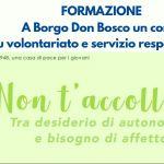 Corso di formazione al volontariato e al servizio responsabile di Borgo Don Bosco