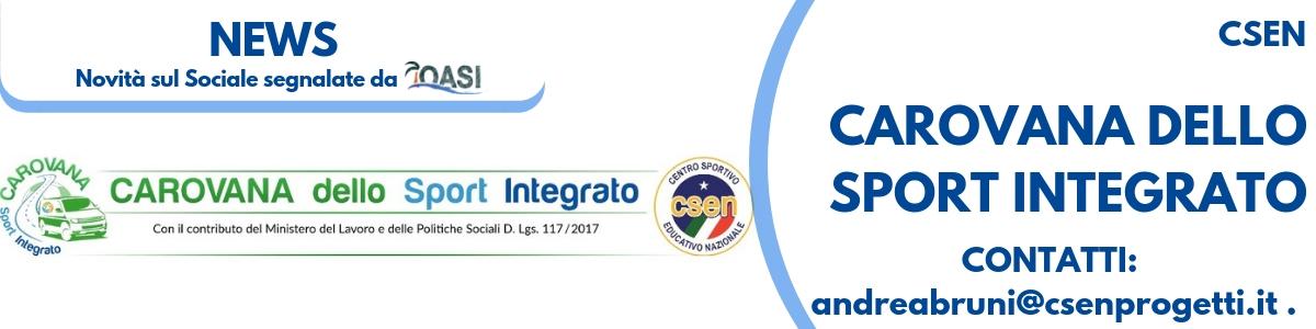 Carovana dello sport integrato dello CSEN