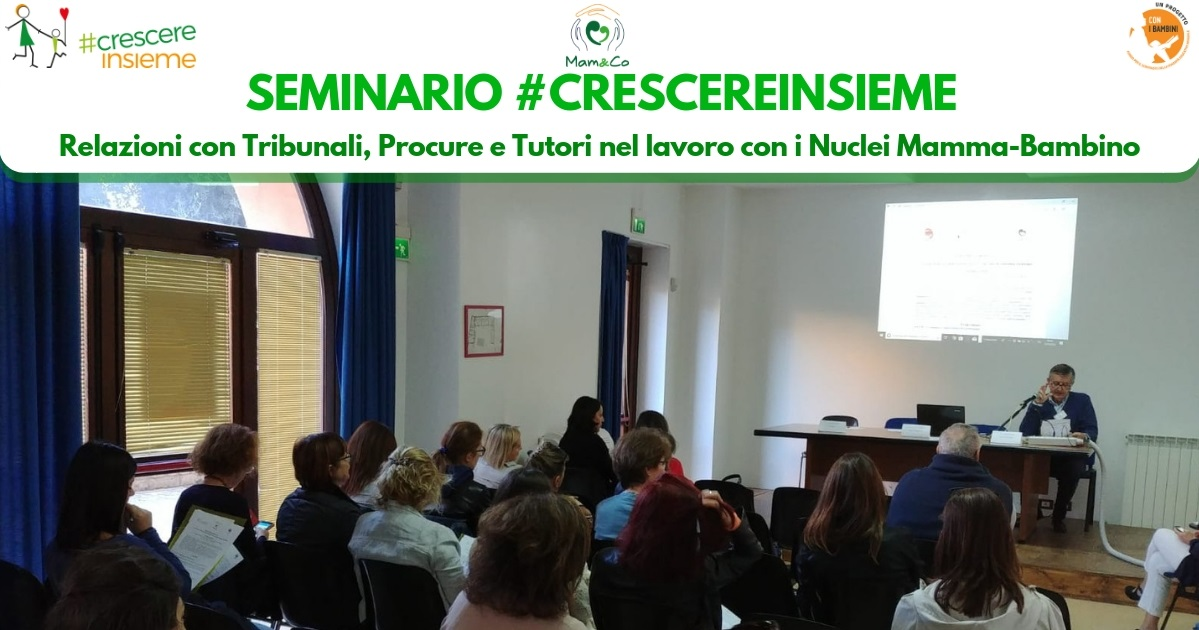 Formazione operatori per nuclei mamma-bambino: i seminari