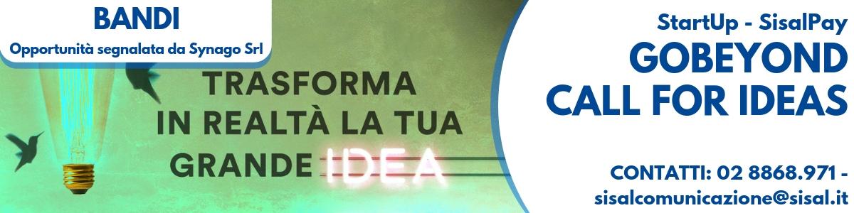 GoBeyond - Call for ideas di SisalPay