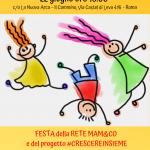 Il progetto #crescereinsieme e la Rete Mam&Co fanno festa!