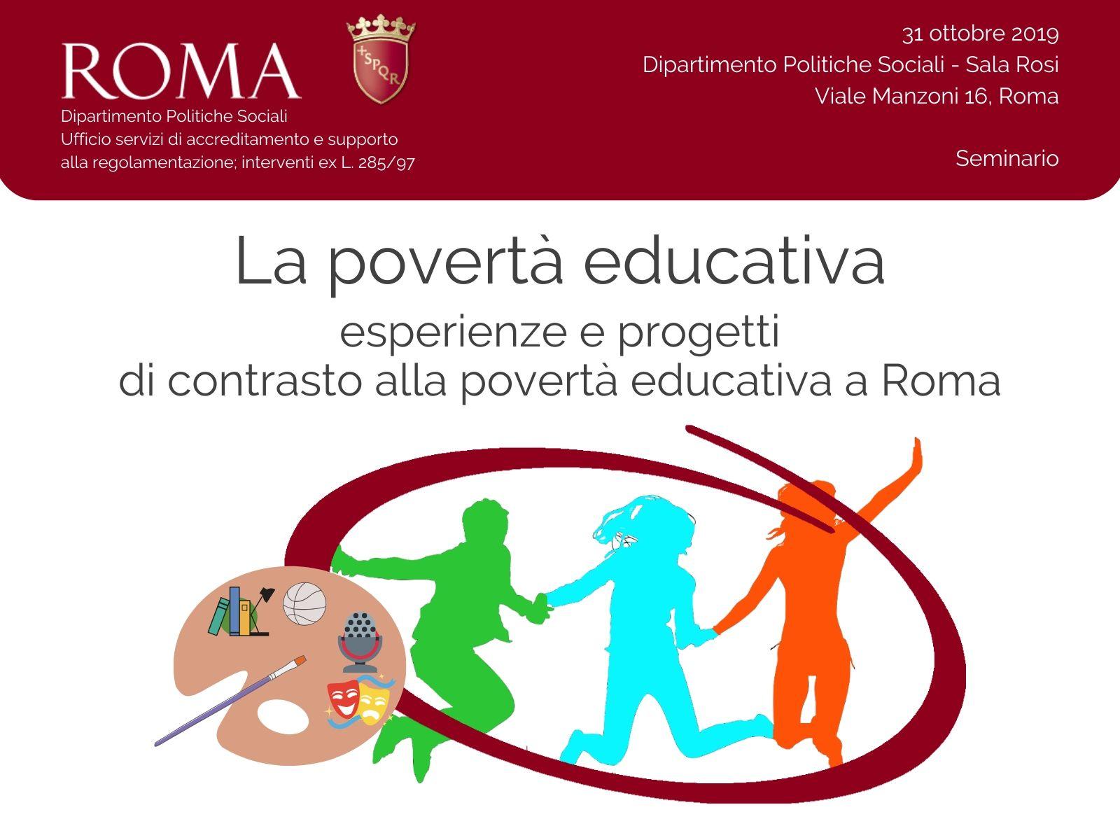 Il seminario sui progetti per il contrasto della povertà educativa