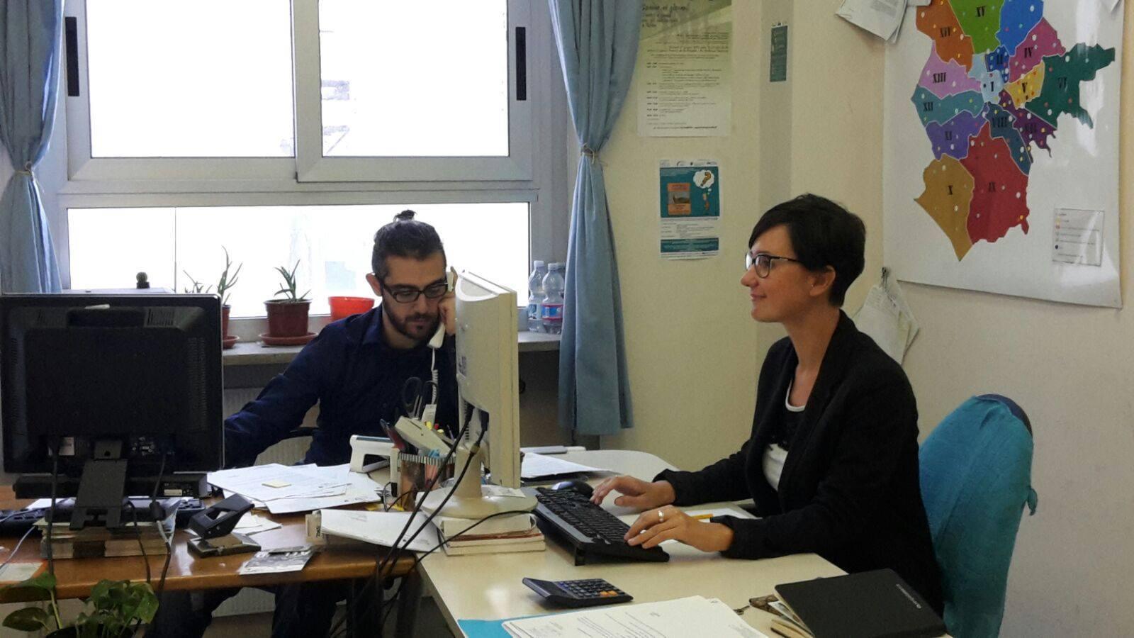 Staff di Oasi impegnato sui Progetti 285 a Roma