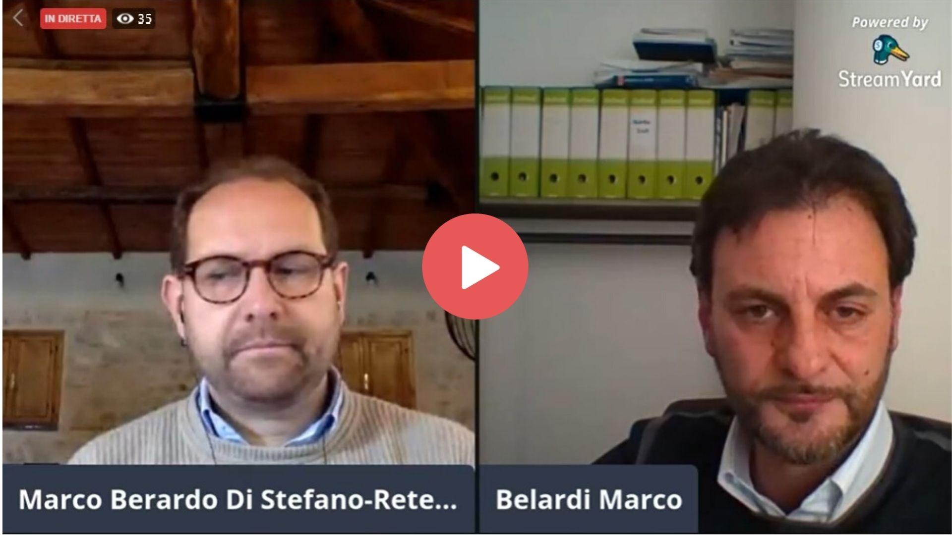 Live con Marco Belardi e Rete Fattorie Sociali
