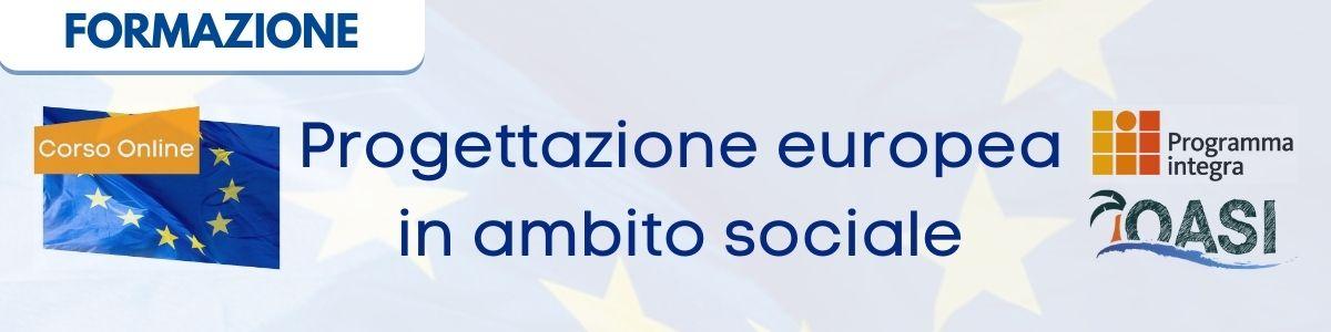 corso online di europrogettazione