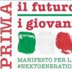 Manifesto prima il futuro prima i giovani